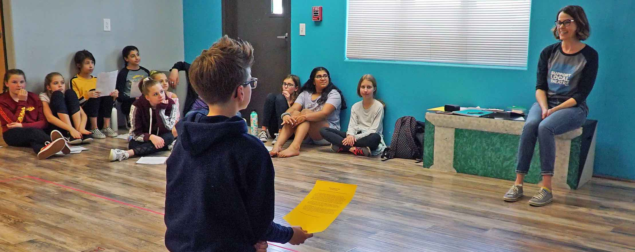 Kat Bailes Monologue Workshop: in REVIEW